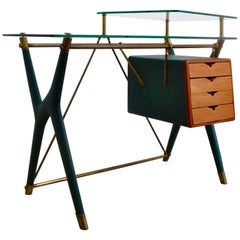 Desk Designed by Silvio Berrone, Italy, circa 1955