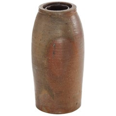 Late 19th Century American Salt Glaze Crock