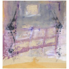 Mid-20th Century Large Abstract Painting