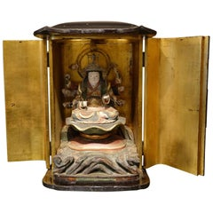 Japanese Altar in Lacquer, Edo Period '1603-1868'