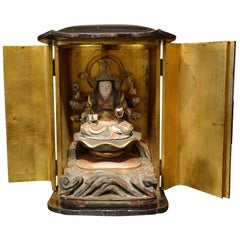 Japanese Shrine in Lacquer, Edo Period '1603-1868'