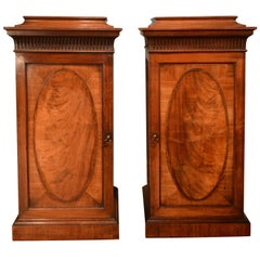 18th Century Pair of Mahogany Pedestals Attributed to Gillows of Lancaster