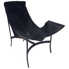 Leather Sling Chair by William Katavolos for Leathercrafter
