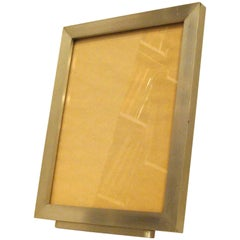 Rare Wendell August Modernist Picture Frame, Special for Holiday