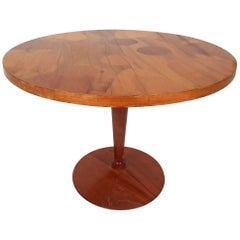 Unique Mid-Century Modern Round End Table