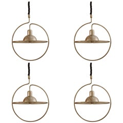 Set of Four Saturn Pendant Lamp