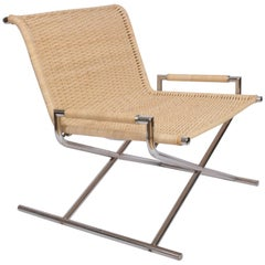 "1960s Ward Bennett for Brickell ""Sled"" Lounge Chair"