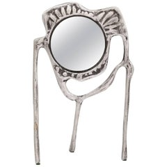 Donald Drumm Aluminum Tabletop Mirror