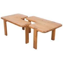Pair of Aksel Kjersgaard Coffee Tables for Odder Furniture, 1960