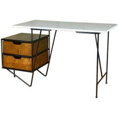1950s Floating Desk by D.R. Bates & Jackson Gregory Jr. for Vista of California