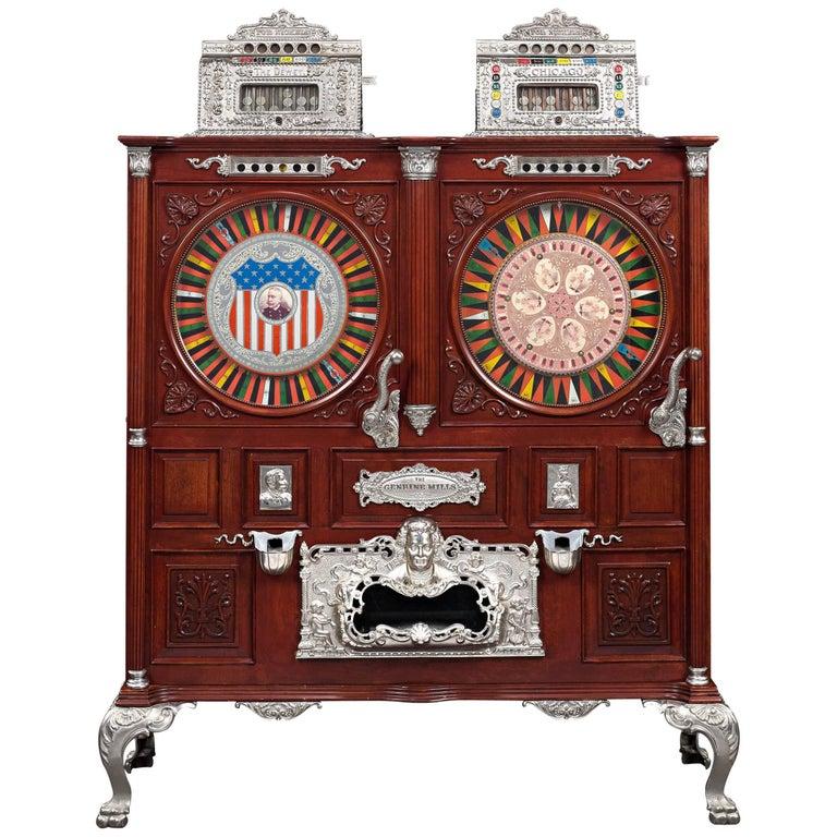 Mills Double Upright Slot Machine