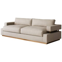 Contemporary Bern Sofa, Custom & Made to Order by Dmitriy & Co
