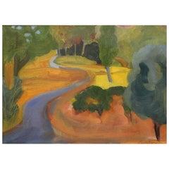 Judith Lambertson Painting