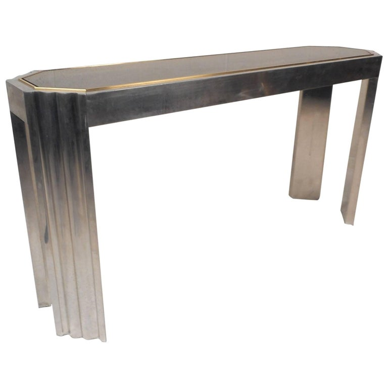 Impressive Mid-Century Modern Console Table