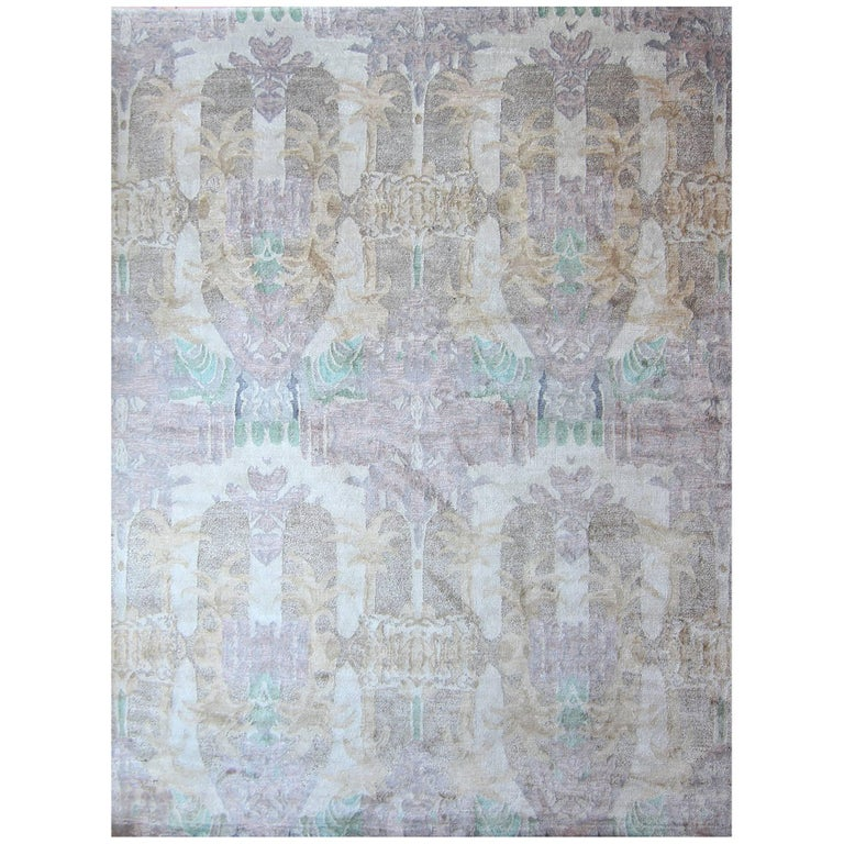 Eskayel, Clairmont Rug, Matka Silk and Wool Blend For Sale