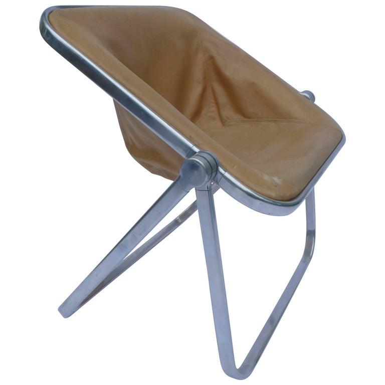 Plona Folding Chair by Giancarlo Piretti for Castelli