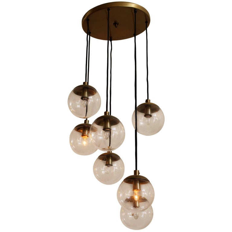 RAAK Cascade Chandelier For Sale