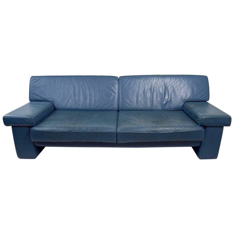 Walter Knoll Leather Sofa for Sirino Brayton International For Sale