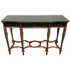 John Widdocomb Console Table from the Mario Buatta Collection