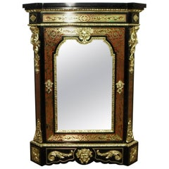 French Napoleon III Boulle Side Cabinet by Mathieu Befort