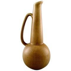 """Large Rörstrand """"Ritzi"""" Ceramic Vase or Pitcher, Sweden, 1960s"""