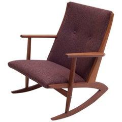 Georg Jensen Rocking Chair Boomerang from 1958