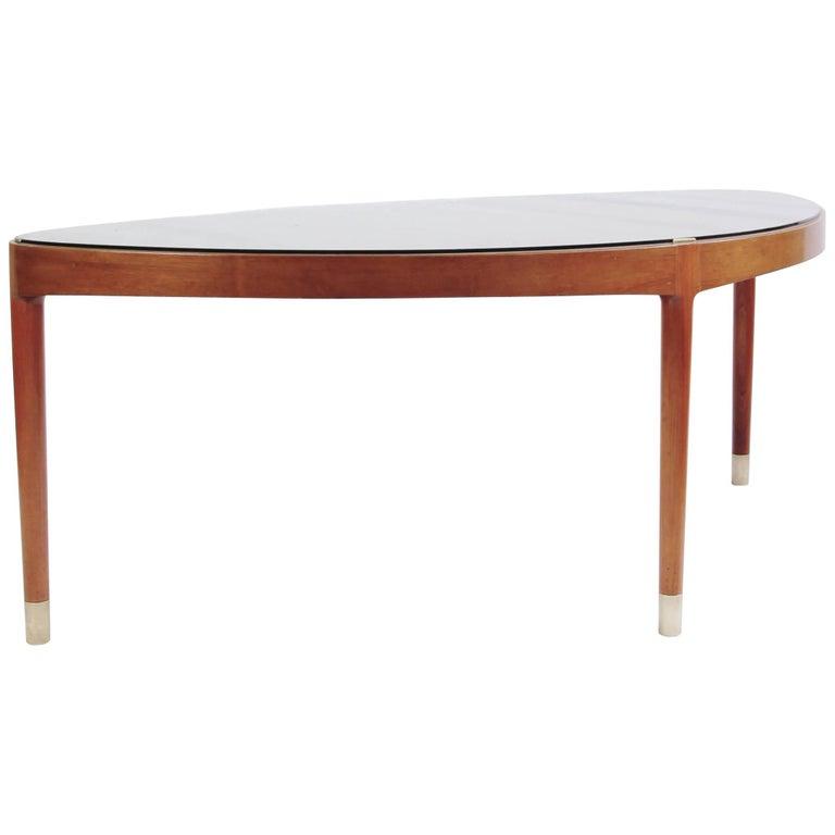 Ovoid Coffee Table by Helge Vestergaard Jensen