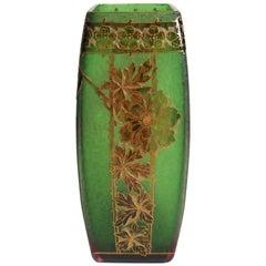 Art Nouveau Cameo Vase by Riedel