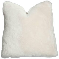 Genuine Shearling Pillow