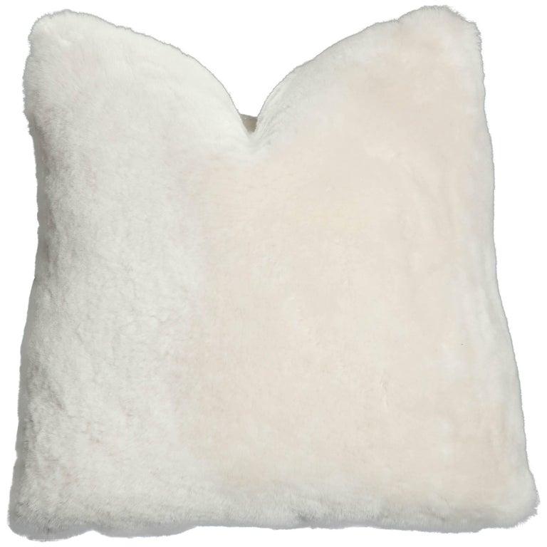 Genuine Shearling Pillow