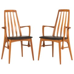 "Pair of ""Eva"" Armchairs by Niels Koefoed"