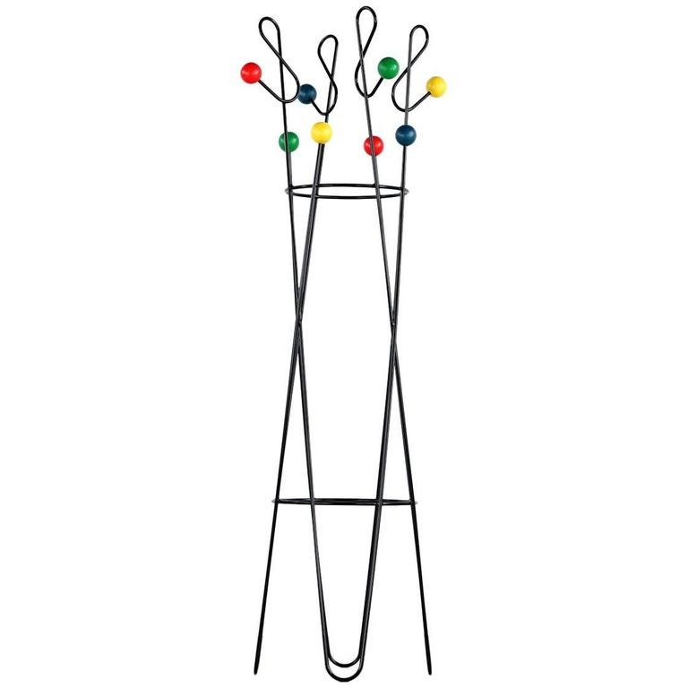 Roger Ferraud 'Cle de Sol' Coat Stand / Hang it All eames, Paris, France 1960 For Sale
