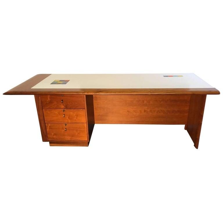 Beautiful Mid century Desk by Samson Berman