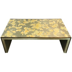 Handmade Gracie Silver Waterfall Coffee Table