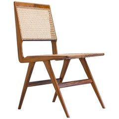 Martin Eisler & Carlo Hauner Chair in Caviúna and Cane, Brazil, 1950s