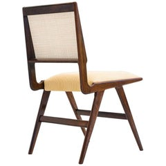 Martin Eisler & Carlo Hauner Chair in Brazilian Rosewood and Cane, Brazil, 1950s