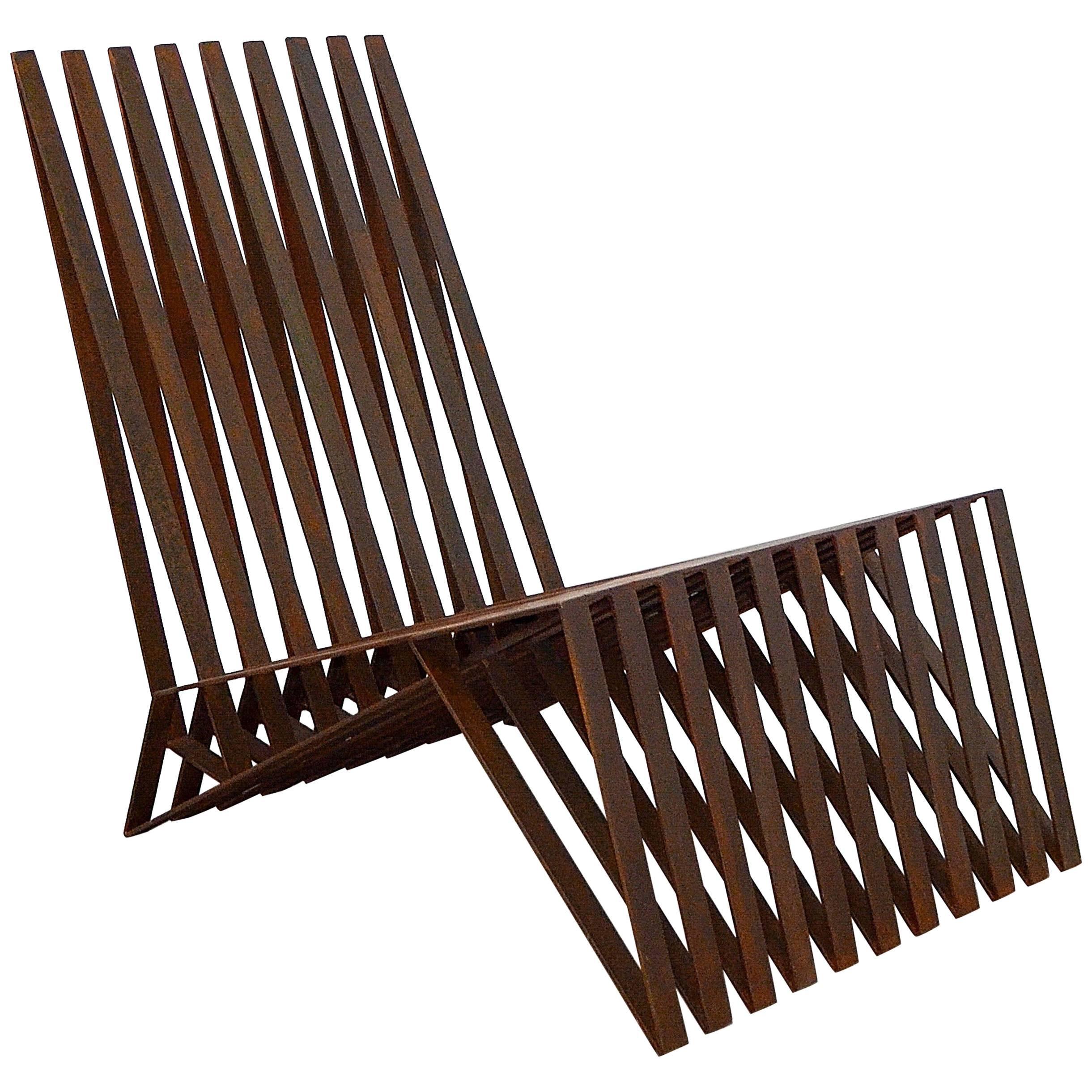 """Logan"" Contemporary Lounge Chair by Brazilian Designer Flavio Franco"
