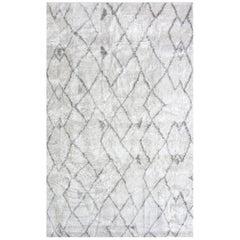 Eskayel, Peaks Rug, 100% Silk Lulu Weave