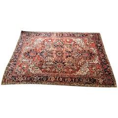 1920s Persian Room Sized Carpet Heriz Oriental Rug