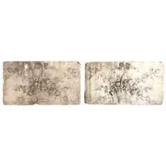Pair of French Louis XVI Style Boiserie Panels