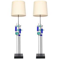 Pair of Floor Lamps by Svend Aage Holm Sørensen