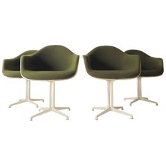La Fonda DAL 1960s Herman Miller Armchairs by Girard & Charles Eames Set of Four