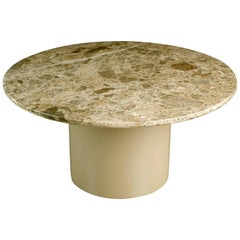 Monumental Circular Granite Dining Table by Brueton, circa 1980