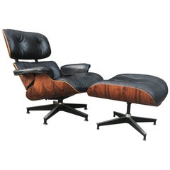 Superb Eames Lounge and Ottoman for Herman Miller