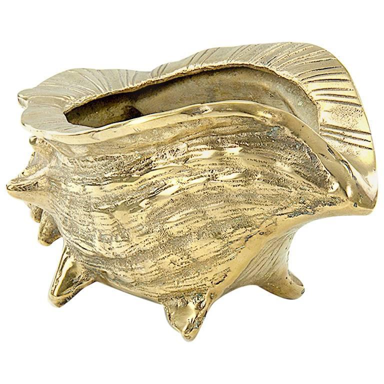 Brass Shell Centrepiece or Vide Poche