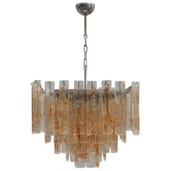 Chandelier La Murrina 1970s Murano Art Glass