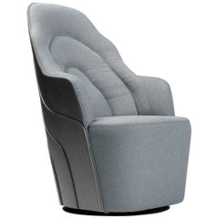 Grey Stained Birch Couture Armchair