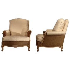 Pair of 1950s French Armchairs