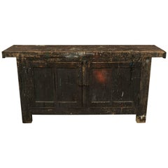 Primitive Work Cabinet from France, circa 1940