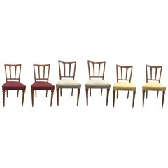 6 Dining Chairs by Paolo Buffa , 1950s